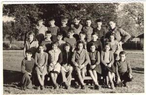 4 - Année 53-54 Mr Doubre école des Bormettes(19-03-54)